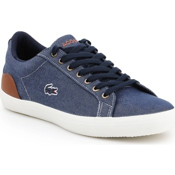 Chaussures Homme Baskets basses Lacoste Lerond 317 2 CAM 7-34CAM00422Q8 granatowy, brązowy
