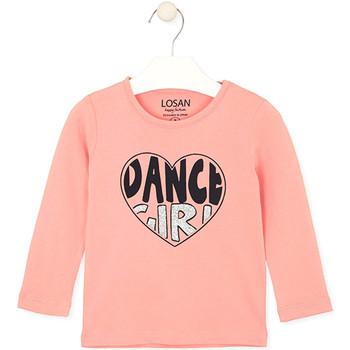 Vêtements Enfant T-shirts & Polos Losan 026-1632AL Rose