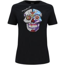 Vêtements Femme T-shirts & Polos Freddy F0WBRT2 Noir
