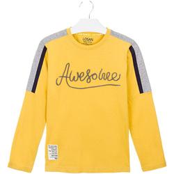 Vêtements Enfant T-shirts & Polos Losan 023-1008AL Jaune