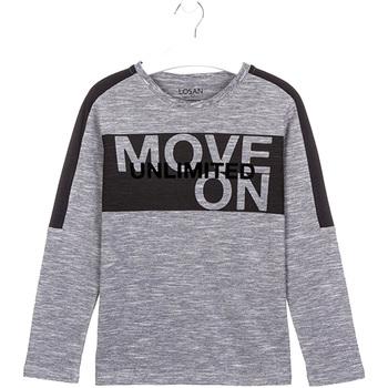 Vêtements Enfant T-shirts & Polos Losan 023-1020AL Gris