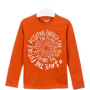 Vêtements Enfant T-shirts & Polos Losan 023-1013AL Orange