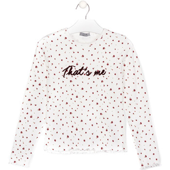 Vêtements Enfant T-shirts & Polos Losan 024-1008AL Blanc