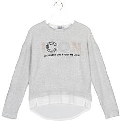 Vêtements Enfant T-shirts & Polos Losan 024-1024AL Gris