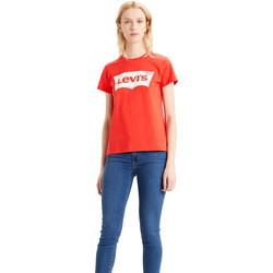 Vêtements Femme T-shirts & Polos Levi's 17369-1082 Rouge