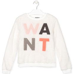 Vêtements Enfant Sweats Losan 024-6021AL Blanc