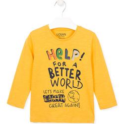 Vêtements Enfant T-shirts & Polos Losan 025-1005AL Jaune