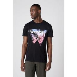 Vêtements Homme T-shirts & Polos Wrangler T-shirt  Cowboy Cool noir
