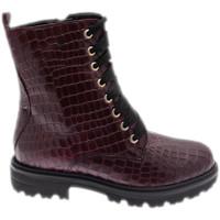 Chaussures Femme Boots Calzaturificio Loren LOC3918bor rosso