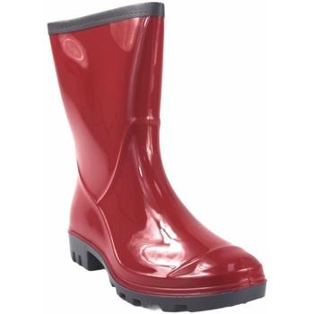 Chaussures Femme Bottes de pluie Kelara K91101 botte de  femme rouge Rouge