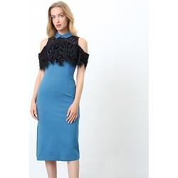 Vêtements Femme Robes courtes Smart & Joy Celestine Bleu lagon