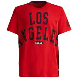 Vêtements Homme T-shirts manches courtes Guess T-Shirt Homme G.T.L.A. M92I36 I3Z00 Rouge (rft) Rouge