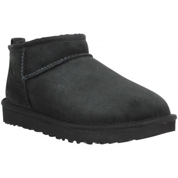 Chaussures Femme Bottes de neige UGG UGG Classic Ultra Mini velours Femme Noir Noir