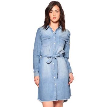 Vêtements Femme Robes Von Dutch JUKE DB Bleu