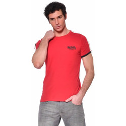 Vêtements Homme T-shirts manches courtes Von Dutch TWEN ROUGE Rouge