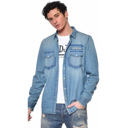 Vêtements Homme Chemises manches longues Von Dutch TENES BD Bleu