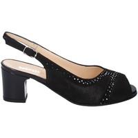 Chaussures Femme Sandales et Nu-pieds Melluso HS610 NOIR