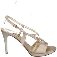 Chaussures Femme Sandales et Nu-pieds Melluso HJ420 PLATINE