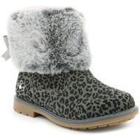 Chaussures Fille Bottes de neige Mod'8 Stelie GRIS