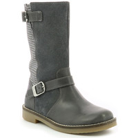 Chaussures Fille Bottes ville Aster Widia GRIS