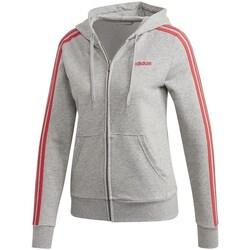Vêtements Femme Sweats adidas Originals Essentials 3S Full Zip Hoodie Gris