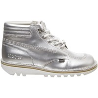 Chaussures Femme Boots Kickers Kick Throwback Argent