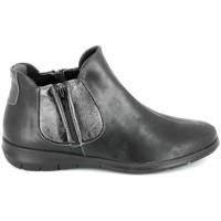 Chaussures Femme Boots Boissy 66000 Noir Noir