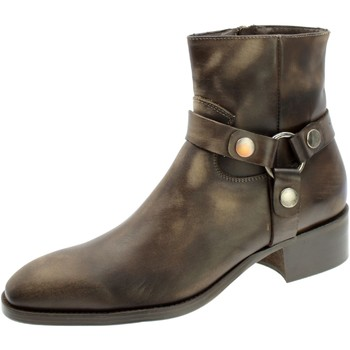 Chaussures Homme Bottes Sangue 3697 Rosso