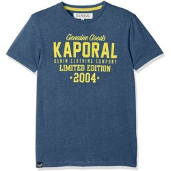 Vêtements Enfant T-shirts & Polos Kaporal T-Shirt Garçon Ruff Bleu Bleu