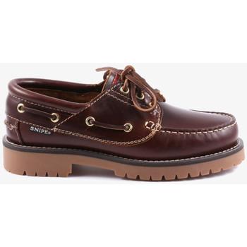 Chaussures Femme Derbies Snipe 21801 Marron