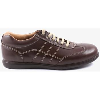 Chaussures Homme Baskets mode Traveris 24102 Marron
