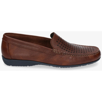 Chaussures Homme Mocassins Kennebec 5467 CUADRADITOS Marron