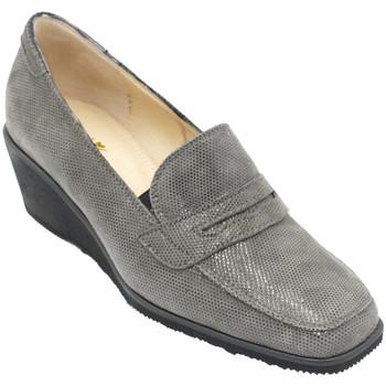 Chaussures Femme Mocassins Angela Calzature ANSANGC4056gr grigio