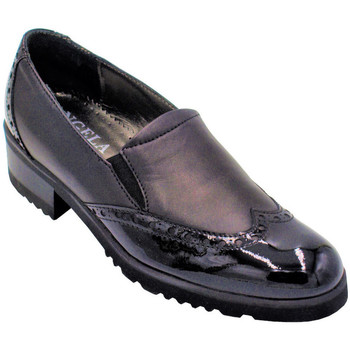 Chaussures Femme Mocassins Angela Calzature ANSANGC613nr nero