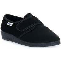 Chaussures Homme Chaussons Emanuela 601 NERO PANTOFOLA Nero