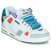 Chaussures Homme Baskets basses Globe SABRE Blanc / Multicolore