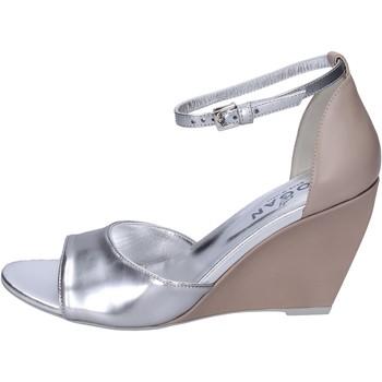 Chaussures Femme Sandales et Nu-pieds Hogan BK658 Argenté