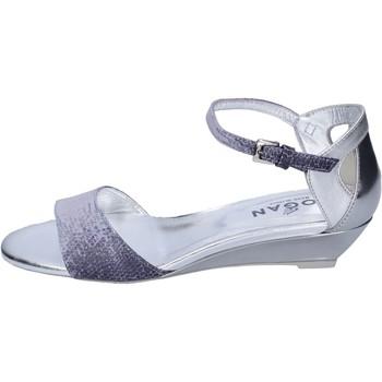 Chaussures Femme Sandales et Nu-pieds Hogan BK661 Bleu