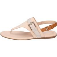 Chaussures Femme Sandales et Nu-pieds Hogan BK664 Beige