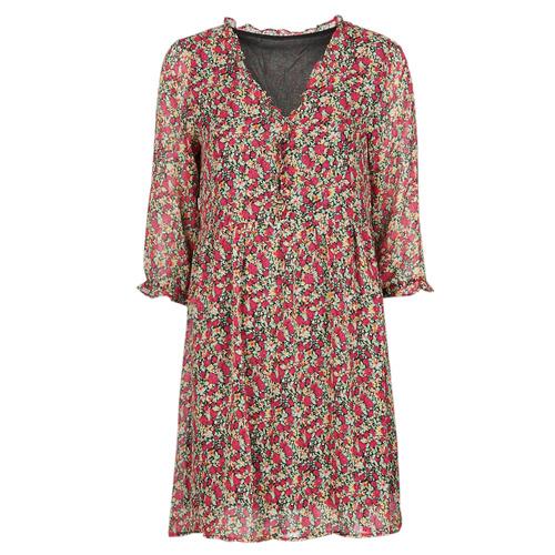 Vêtements Femme Robes courtes Betty London NEBECCA Rouge / Multicolore