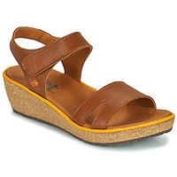 Chaussures Femme Sandales et Nu-pieds Art CAPRI Marron