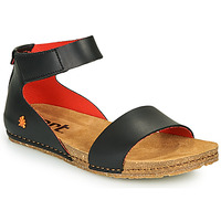 Chaussures Femme Sandales et Nu-pieds Art CRETA Noir / Rouge