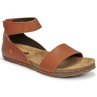 Chaussures Femme Sandales et Nu-pieds Art CRETA Marron