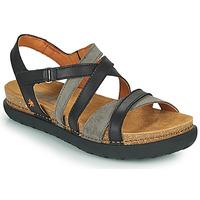 Chaussures Femme Sandales et Nu-pieds Art RHODES Noir