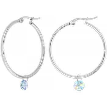 Comment faire un retour Femme Boucles d'oreilles Sc Bohème BS2514-B2261-ARGENT-IRIS Argenté