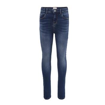 Vêtements Fille Jeans slim Only KONPAOLA Bleu