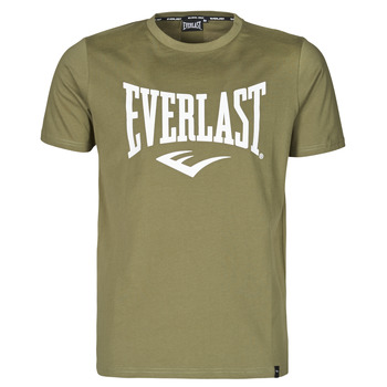 Vêtements Homme T-shirts manches courtes Everlast EVL- BASIC TEE-RUSSEL Khaki