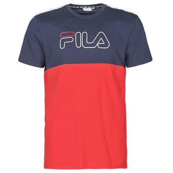 Vêtements Homme T-shirts manches courtes Fila JOPI Rouge / Marine