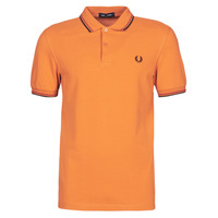 Vêtements Homme Polos manches courtes Fred Perry TWIN TIPPED FRED PERRY SHIRT Camel