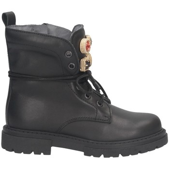 Chaussures Fille Boots Dianetti Made In Italy I9893S NOIR